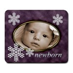 newborn baby mouse mat - Large Mousepad