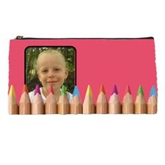 Elky Pencilcase By Ruchy   Pencil Case   Zm5mmkg4rcr3   Www Artscow Com Front