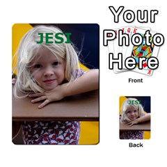 Geddes2 By Rachel   Multi Purpose Cards (rectangle)   Ecdn23q7vyz4   Www Artscow Com Back 32