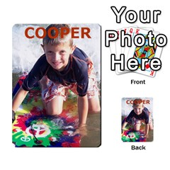 Geddes2 By Rachel   Multi Purpose Cards (rectangle)   Ecdn23q7vyz4   Www Artscow Com Back 39