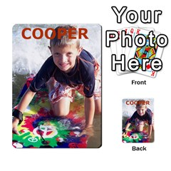 Geddes2 By Rachel   Multi Purpose Cards (rectangle)   Ecdn23q7vyz4   Www Artscow Com Back 40