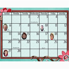 2011 Calendar By Sweetheaven   Wall Calendar 11  X 8 5  (12 Months)   Sm8ajrd9qk58   Www Artscow Com Feb 2011