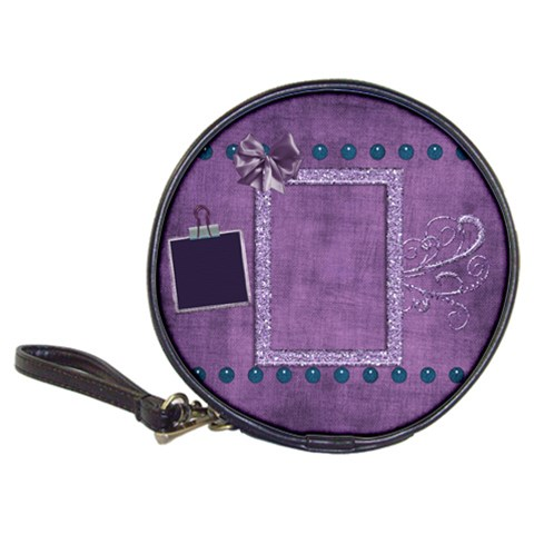 Lavender Rain Cd Wallet 1 By Lisa Minor   Classic 20 Cd Wallet   F3c38o3ip7la   Www Artscow Com Front