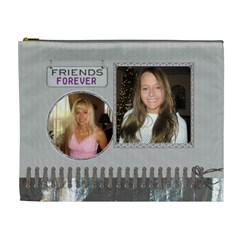 Friends Forever Xl Cosmetic Bag By Lil    Cosmetic Bag (xl)   Ugszxdja3z4c   Www Artscow Com Front