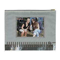 Friends Forever Xl Cosmetic Bag By Lil    Cosmetic Bag (xl)   Ugszxdja3z4c   Www Artscow Com Back