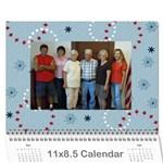 Sue calendar - Wall Calendar 11  x 8.5  (12-Months)