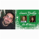 8x4 Photo Christmas Card - 4  x 8  Photo Cards