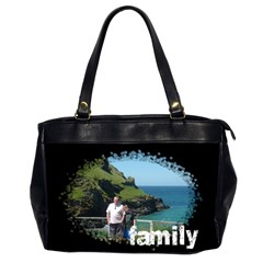 Family Love Oversized Office Bag By Catvinnat   Oversize Office Handbag (2 Sides)   Wwx7wgkzby4w   Www Artscow Com Front