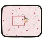 With Love - pink - Netbook Case (XL)
