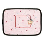 With Love - pink - Netbook Case (Medium)