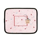 With Love - pink - Netbook Case (Small)