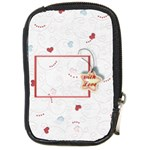 with Love - Compact Camera Leather Case