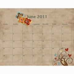 Calendar2011 3! By Galya   Wall Calendar 11  X 8 5  (12 Months)   X7njh7ngn1c3   Www Artscow Com Jun 2011