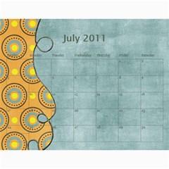 Calendar2011 3! By Galya   Wall Calendar 11  X 8 5  (12 Months)   X7njh7ngn1c3   Www Artscow Com Jul 2011