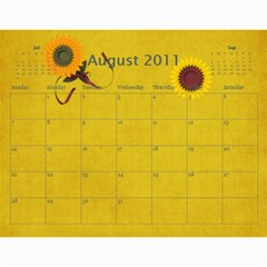 Calendar2011 3! By Galya   Wall Calendar 11  X 8 5  (12 Months)   X7njh7ngn1c3   Www Artscow Com Aug 2011