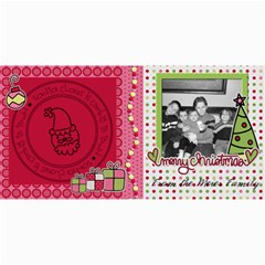 Santa Claus Is Coming To Town Card By Martha Meier   4  X 8  Photo Cards   Ix71jld7dqi7   Www Artscow Com 8 x4 Photo Card - 10