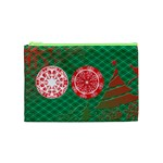 xmas swirls cosmetic bag - Cosmetic Bag (Medium)