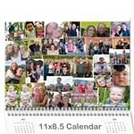 myers calendar 2010 - Wall Calendar 11  x 8.5  (12-Months)