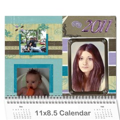 Moms Calendar 2011 By Angeline Petrillo   Wall Calendar 11  X 8 5  (12 Months)   1xglkgm7i2rs   Www Artscow Com Cover