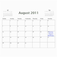 Moms Calendar 2011 By Angeline Petrillo   Wall Calendar 11  X 8 5  (12 Months)   1xglkgm7i2rs   Www Artscow Com Aug 2011