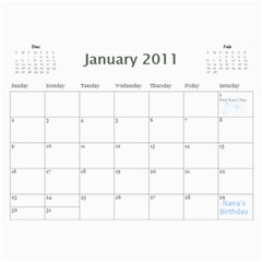 Moms Calendar 2011 By Angeline Petrillo   Wall Calendar 11  X 8 5  (12 Months)   1xglkgm7i2rs   Www Artscow Com Jan 2011
