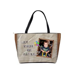 Let Them Be Little Shoulder Handbag By Lil    Classic Shoulder Handbag   Ls81qf480r47   Www Artscow Com Back