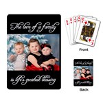 Life s Greatest Blessing Layout - Playing Cards Single Design