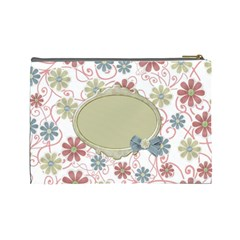 Pip Large Cosmetic Bag 1 By Lisa Minor   Cosmetic Bag (large)   D8u8awndly8l   Www Artscow Com Back