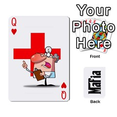 Queen Mafia By Jl   Playing Cards 54 Designs   Fngz0zfzprlk   Www Artscow Com Front - HeartQ