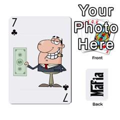 Mafia By Jl   Playing Cards 54 Designs   Fngz0zfzprlk   Www Artscow Com Front - Club7