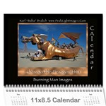 Burning Man People 2011 - Wall Calendar 11  x 8.5  (12-Months)