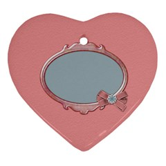 Pips 2 Sided Heart Ornament 1 By Lisa Minor   Heart Ornament (two Sides)   Bj6lafuf0gnq   Www Artscow Com Back