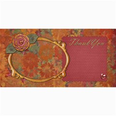 Thanku Card By Shelly   4  X 8  Photo Cards   Phv8jc4upv56   Www Artscow Com 8 x4 Photo Card - 3