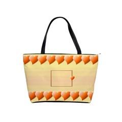 Orange Hearts Bag By Daniela   Classic Shoulder Handbag   Hxyn9dgmvl2p   Www Artscow Com Front