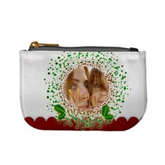 Christmas Bag By Wood Johnson   Mini Coin Purse   Ma94q7h2l5wz   Www Artscow Com Front