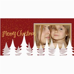 Happy Holiday By Wood Johnson   4  X 8  Photo Cards   Mynbfentrnbd   Www Artscow Com 8 x4 Photo Card - 1