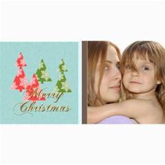 Merry Christmas By Wood Johnson   4  X 8  Photo Cards   9c3509q7expa   Www Artscow Com 8 x4 Photo Card - 1
