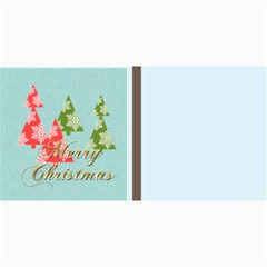 Merry Christmas By Wood Johnson   4  X 8  Photo Cards   9c3509q7expa   Www Artscow Com 8 x4 Photo Card - 2