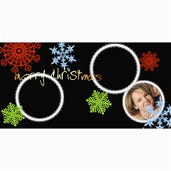 Merry Christmas By Wood Johnson   4  X 8  Photo Cards   Lv3jmdr5c74a   Www Artscow Com 8 x4 Photo Card - 2