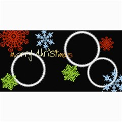 Merry Christmas By Wood Johnson   4  X 8  Photo Cards   Lv3jmdr5c74a   Www Artscow Com 8 x4 Photo Card - 9