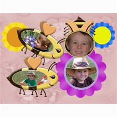 Grandma Loves Her Sweet Honey Bees 2011 By Chere s Creations   Wall Calendar 11  X 8 5  (12 Months)   Oj3bmtqqgt57   Www Artscow Com Month