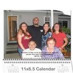 Rios 2011 - Wall Calendar 11  x 8.5  (12-Months)