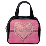 cute little purse to put valentines presents in - Classic Handbag (One Side)