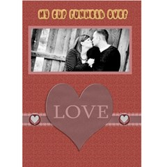 Valentine Card For Spouse By Danielle Christiansen   Greeting Card 5  X 7    U9vpryj2c48b   Www Artscow Com Front Cover