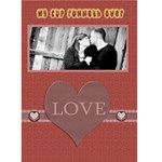 Valentine card for spouse - Greeting Card 5  x 7
