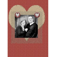 Valentine Card For Spouse By Danielle Christiansen   Greeting Card 5  X 7    U9vpryj2c48b   Www Artscow Com Back Inside