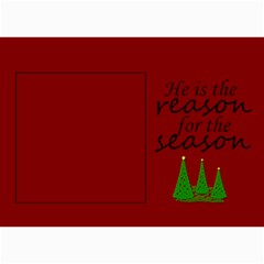 He Is The Reason Cards By Amanda Bunn   5  X 7  Photo Cards   Qh7k7czm596r   Www Artscow Com 7 x5 Photo Card - 10