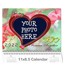 Bleeding Heart 2015 By Chere s Creations   Wall Calendar 11  X 8 5  (12 Months)   Ubie24celdsf   Www Artscow Com Cover