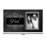 Dad & Me Business Card Holder