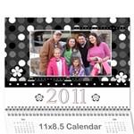 Mamaw s calendar - Wall Calendar 11  x 8.5  (12-Months)